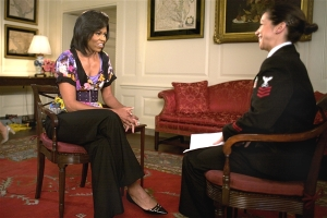 The First Lady interview