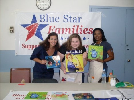 Books on Bases, Blue Star Families